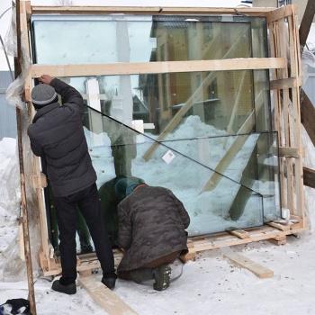 Вскрытие ящиков со стеклопакетами, при установке размер имеет значение #БрауниАрт