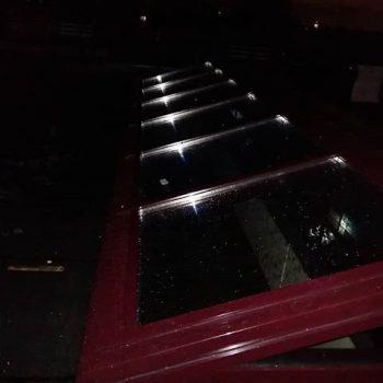 Ночной зенитный фонарь.. #СтекляннаяКрыша