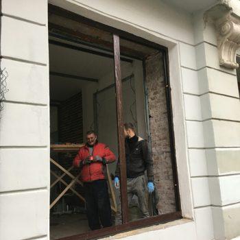 Скрытые створки в центре Петроградки