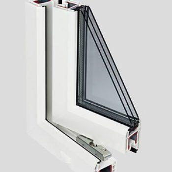 Окна ПВХ — BLITZ NEW, 3 камеры, 60 мм.