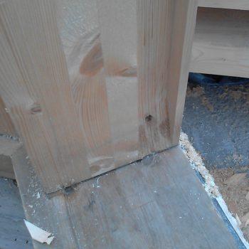 Про штробу и ненужные затраты при строительстве фахверков
