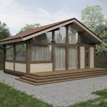 Экономия на строительстве фахверкового дома