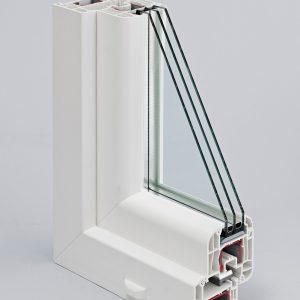 Окна ПВХ — DELIGHT, 5 камер, 70 мм.